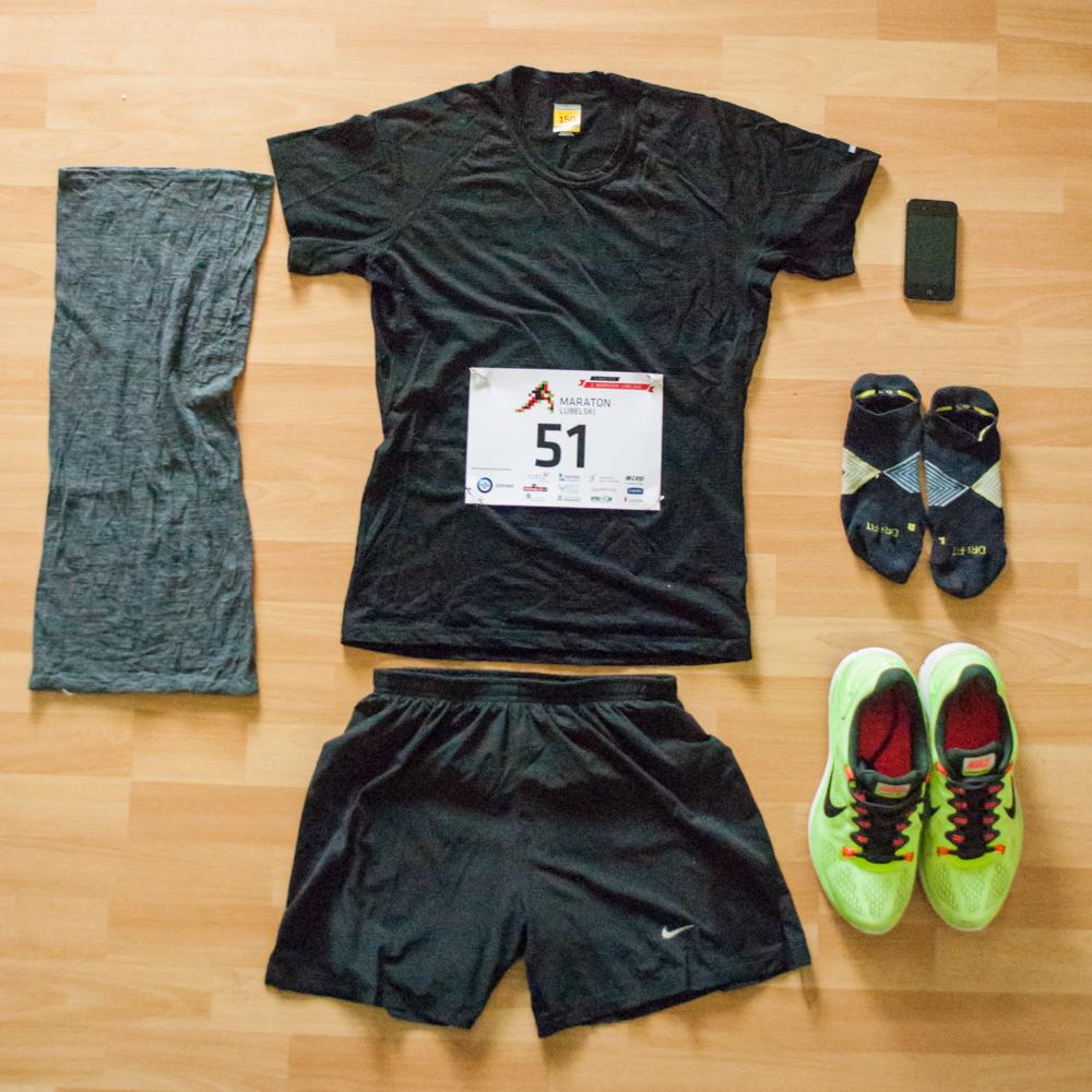 2. Maraton Lubelski, Bieganie, sprzęt