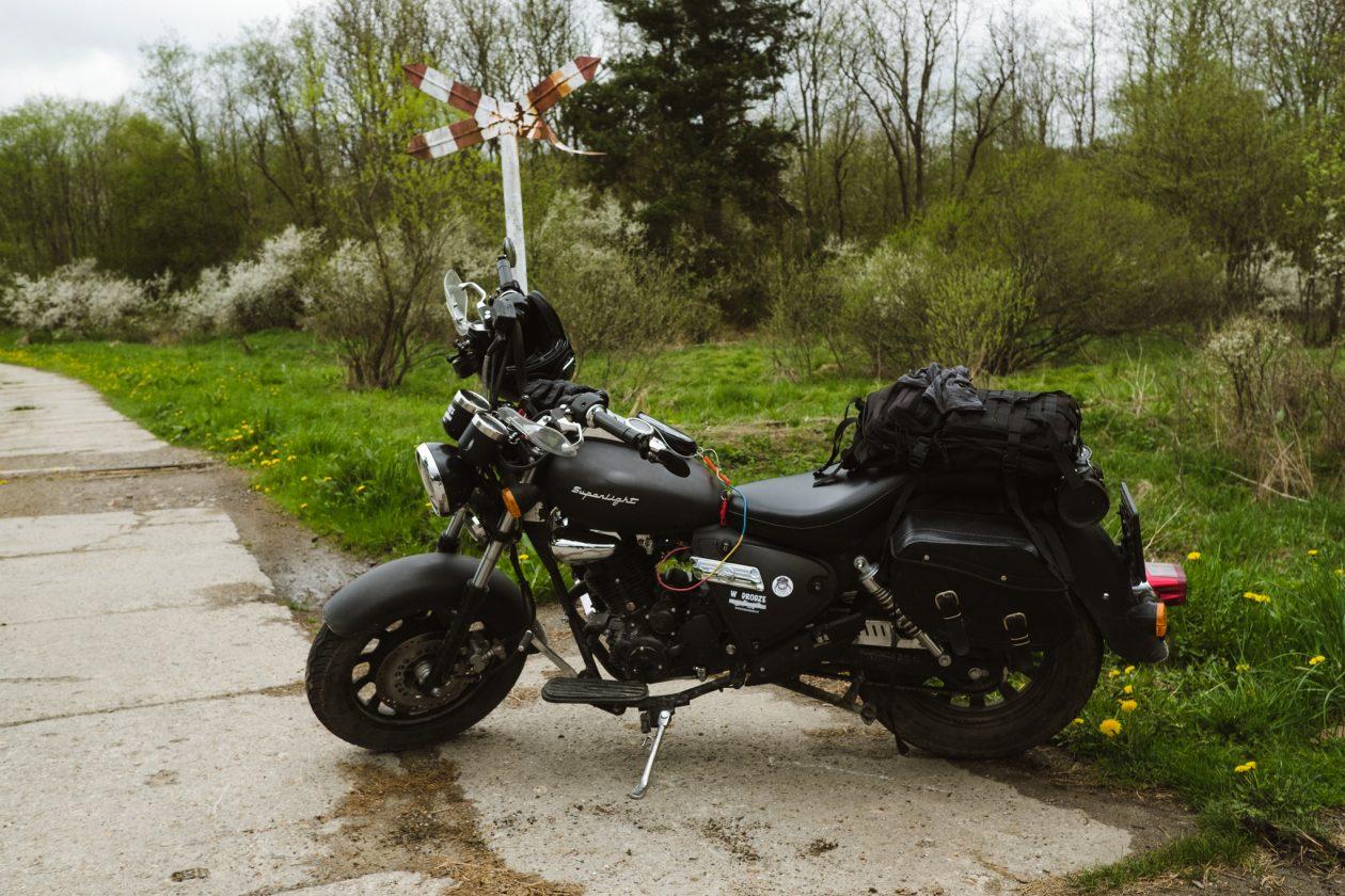 Pierwszy trip motocyklowy wBieszczady - Keeway Superlight - Motocyklem 125